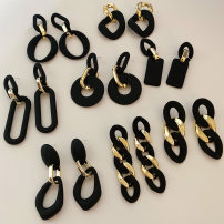 Earrings other 10-19.99 yuan Expect him brand new female Japan and South Korea goods in stock Fresh out of the oven Not inlaid other
