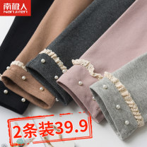trousers NGGGN female 100cm 110cm 120cm 130cm 140cm 150cm spring and autumn trousers Korean version There are models in the real shooting Leggings Leather belt middle-waisted cotton Don't open the crotch Cotton 95% polyurethane elastic fiber (spandex) 5% NFT6T125790 Class A NFT6T125790 Spring 2020