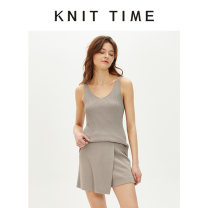 Fashion suit Spring 2020 S,M,L Black, Khaki 25-35 years old Knit time KTF20X603 30% and below nylon