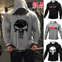 Fitness clothes Other / other male easy Long sleeves To the buttocks