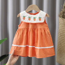Dress female Other / other 80, 90, 100, 110, 120 Other 100% summer Korean version cotton A-line skirt 12 months, 9 months, 18 months, 2 years, 3 years, 4 years Chinese Mainland