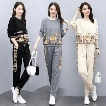 Fashion suit Spring 2021 M,L,XL,2XL,3XL,4XL Gray, off white, black