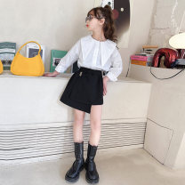 suit Other / other Dark Khaki, black 110cm,120cm,130cm,140cm,150cm,160cm,170cm female spring and autumn leisure time Long sleeve + pants 2 pieces routine There are models in the real shooting Socket nothing lattice cotton children Expression of love Class B 7, 8, 14, 3, 6, 2, 13, 11, 5, 4, 10, 9, 12