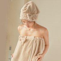 Bath skirt / bathrobe / bathrobe 380g J8168 female Average size Other brands Khaki, coffee, off white, lotus root powder, off white.