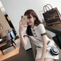 Sports dress 8930L63819 female Auden 74157L24945 Black and white L M XL S Summer of 2019 Short sleeve Sports & Leisure Sports life