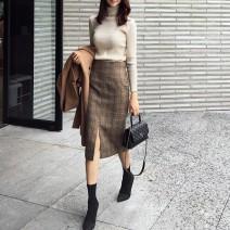 Sports skirt 0AQSiJ Khaki grey Auden female S M L XL Autumn 2020 other