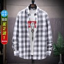 shirt Youth fashion DTT M L XL 2XL 3XL 4XL Thin money Pointed collar (regular) Long sleeves easy Other leisure autumn DTT8A10C01 teenagers Cotton 100% tide 2019 lattice Plaid Summer of 2019 No iron treatment cotton Sticking cloth Pure e-commerce (online only) More than 95%