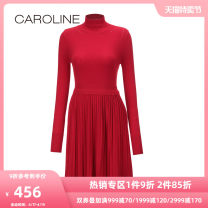 Dress Winter 2017 Black red 160/80A/S 165/84A/M 170/88A/L 170/92A/XL Short skirt 25-29 years old Caroline / Caroline 30% and below nylon Viscose (viscose) 72.6% polyamide (nylon) 27.4% Same model in shopping mall (sold online and offline)