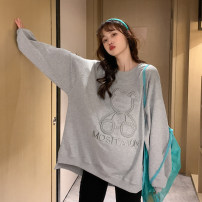 Sweater / sweater Gray, blue Other / other Average size Socket nothing Korean version routine Long sleeves other