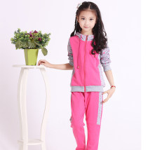 suit Inch time Blue Star grey plum blossom yellow plum blossom light grey boys' sports suit Rose Red Star suit 110cm120cm130cm140cm150cm160cm170cm