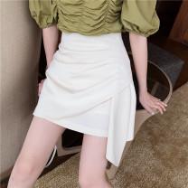 skirt Summer 2020 S. M, l, average size Skirt apricot, skirt black, coat green, coat purple