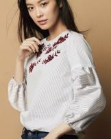 T-shirt White, fine red, light blue, light pink, striped black S (7), m (9), l (11), XL (13), XXL (15) cotton 51% (inclusive) - 70% (inclusive)