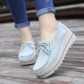 Low top shoes 35,36,37,38,39,40 Other / other Round head Cattle suede (frosted) Muffin bottom Flat heel (1cm or less) Shallow mouth Two layer pigskin Spring 2020 Trochanter leisure time Adhesive shoes Youth (18-40 years old), middle age (40-60 years old) Solid color polyurethane Shoe of sponge cake
