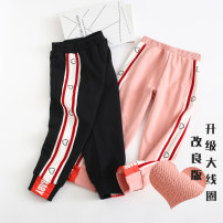trousers Other / other female spring and autumn trousers Sports pants cotton Cotton 95% polyurethane elastic fiber (spandex) 5% Four, five, six, seven, eight, nine, ten, eleven, twelve, thirteen, fourteen