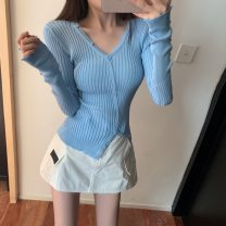 Fashion suit Spring 2021 S. M, average size Light blue top, 1995 skirt 18-25 years old