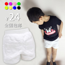 trousers middle-waisted Rubber belt Class B 2, 3, 4, 5, 6, 7, 8, 9, 10, 11, 12, 13, 14 neutral Bulawag / kingdom of Bulala shorts Casual pants summer There are models in the real shot leisure time Open crotch cotton Cotton 95% polyurethane elastic fiber (spandex) 5% BLLsp001