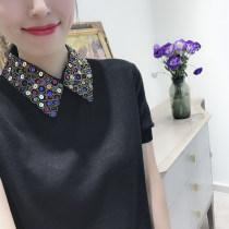 Wool knitwear Autumn of 2018 S M black wool 31% (inclusive) - 50% (inclusive) Fish mom / Yuma Xiaojiao