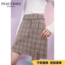 skirt Spring 2021 S M L XL Character pattern in neutral pattern (pre-sale 1) neutral pattern (pre-sale 2) Short skirt High waist A-line skirt Solid color 25-29 years old AWGEB1158 51% (inclusive) - 70% (inclusive) Peacebird polyester fiber Exclusive payment of tmall