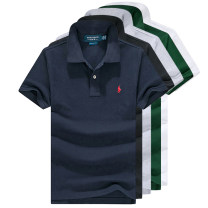 Polo shirt Paul Gang Fashion City routine S [100-120 Jin], m [120-140 Jin], l [140-160 Jin], XL [160-185 Jin], XXL [185-210 Jin] easy Other leisure summer Short sleeve Business Casual routine youth Cotton 100% 2020 Solid color cotton washing make a slit or vent More than 95%