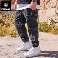 Jeans Youth fashion Panmax / PAN Max 2XL 3XL 4XL 5XL 6XL routine No bullet Regular denim trousers Cotton 75% polyester 21% viscose 4% Four seasons Large size tide zipper Autumn of 2019 Pure e-commerce (online only)