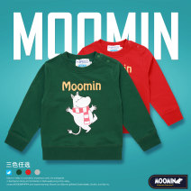 Sweater / sweater Moomin neutral 100cm,110cm,120cm,130cm,140cm,150cm,160cm spring and autumn nothing Europe and America Socket routine No model cotton Cartoon animation Cotton 100% Class A
