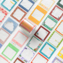 Adhesive tape / tape / tape Paper dyeing Stationery tape