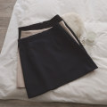 skirt Spring 2020 S,M,L Black, apricot, sapphire Short skirt commute High waist A-line skirt Solid color Type A 18-24 years old S59 71% (inclusive) - 80% (inclusive) other Korean version
