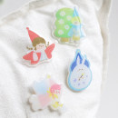 Brooch other RMB 1.00-9.99 Other / other Little witch, little red riding hood, flower fairy, flower picker, little cow, magic rabbit, little black cat, little fire dragon, soft cute duck, peace and joy, overnight wealth, special day, meet rainbow, lovely as me, born to the sun Plants and flowers