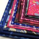 Fabric / fabric / handmade DIY fabric chemical fiber Loose shear piece Cartoon animation printing and dyeing Other hand-made DIY fabrics Chinese style Sishang crystal