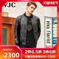 leather clothing VJC / VJC Fashion City Black flowers 165/46/S 170/48/M 175/50/L 180/52/XL 185/54/XXL 190/56/XXXL routine Leather clothes Other 100% D20DK1970 Winter 2020