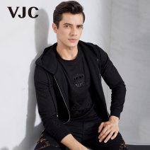 Vest / vest Fashion City VJC / VJC 46/165/S 48/170/M 50/175/L 52/180/XL 54/185/XXL 56/190/XXXL black Other leisure standard Woolen vest autumn youth 2019 B8CD1706 Polyacrylonitrile fiber (acrylic fiber) 51.6% wool 48.4% Autumn of 2019