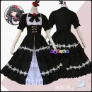 Cosplay women's wear skirt goods in stock Over 14 years old Including: headdress + dress + eye mask + waist chain Animation, original, film and television, games Average size