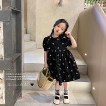 Dress Black, black second batch female No.7 Tong Cang 80cm, 90cm, 100cm, 120cm, 130cm, 140cm, 150cm, 110cm (model size) Other 100% summer other Short sleeve other other other SKC2109 other 2, 3, 4, 5, 6, 7, 8, 9, 10, 11