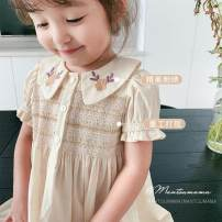 Dress Off the shelf female Other / other 80cm,90cm,100cm,110cm,120cm,130cm Cotton 70% polyethylene terephthalate (polyester) 30% summer princess Short sleeve cotton other Class A Chinese Mainland