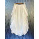 skirt Summer 2020 S,M,L White, black Mid length dress commute Natural waist Solid color Type A 25-29 years old 51% (inclusive) - 70% (inclusive) literature