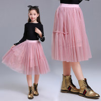 skirt 110 suggested height 100-110, 120 suggested height 110-120, 130 suggested height 120-130, 140 suggested height 130-140, 150 suggested height 140-150, 160 suggested height 150-160 Pink [skirt], grey [skirt], black [skirt] Other / other female Cotton 80% other 20% spring and autumn skirt princess