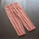 Casual pants Black, orange Average size Spring 2021 trousers Haren pants Natural waist Versatile routine 30-34 years old 51% (inclusive) - 70% (inclusive) yoko girl cotton Button cotton