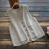 Vest sling Spring 2021 Grey, dark green Average size singleton  routine easy commute Solid color 30-34 years old 30% and below nylon yoko girl