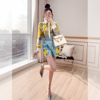 Fashion suit Justvivi style T00008017 Summer 2021 25-35 years old Design and color S,M,L,XL