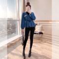 Fashion suit Winter 2020 S,M,L,XL blue 25-35 years old Justvivi style T00004829