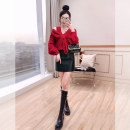 Fashion suit Spring 2021 S,M,L gules 25-35 years old Justvivi style T00007126