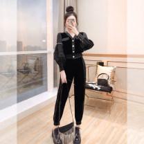 Fashion suit Winter 2021 S,M,L,XL black 25-35 years old Justvivi style T00006626