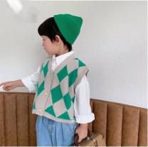 Vest neutral Black, green, yellow 90cm,100cm,110cm,120cm,130cm Chaoma Feifei 2 years old, 3 years old, 4 years old, 5 years old, 6 years old, 7 years old, 8 years old