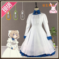 Cosplay women's wear suit goods in stock Over 14 years old Clothing (HAT + socks), clothing (HAT + socks) + wig, wig (hair net), Bow Shoes (remark size 35-39), 7cm thick heel (remark size 35-39) Animation, original, film and television, games L,M,S,XL