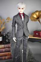 BJD doll zone suit 1/3 Over 14 years old Customized grey 70cm, dragon soul 73, four points, 65cm, three points, Zhuang uncle Eid, blood uncle