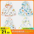 Children's skin clothes / sunscreen clothes 90,100,110,120,130 Righteuro other male Ultra light summer Cotton 100% China on foot