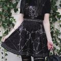 Dress Summer 2020 black S,L,M Middle-skirt singleton  street High waist Decor Socket Princess Dress Princess sleeve straps 18-24 years old Print, lace up 51% (inclusive) - 70% (inclusive) other