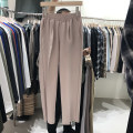 Casual pants Others Youth fashion Light gray, black, cream (apricot), beige, coffee 50. M (waist 60 ~ 96, length 96), m (Korean stock), l (Korean stock) Ninth pants Other leisure easy 200903SE1.0RE autumn Exquisite Korean style 2020