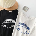 T-shirt White, black Average size Summer 2021 Short sleeve Crew neck easy Regular routine commute cotton 96% and above 18-24 years old Korean version youth Cartoon animation printing