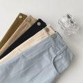 skirt Summer 2021 Average size Black, apricot, blue, khaki, coffee Short skirt commute High waist A-line skirt Solid color Type A 18-24 years old More than 95% Denim cotton Button, zipper Korean version